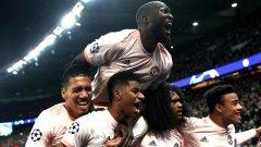 Достигането на Манчестър Юнайтед до 1/4-финалите заедно с Манчестър Сити, Тотнъм и Ливърпул все още не е равносилно на английска доминация в Шампионската лига