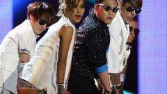 Psy на наградите на MTV