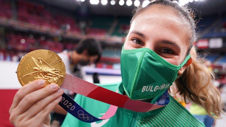 Олимпийската шампионка Ивет: Краката ми трепереха на стълбичката