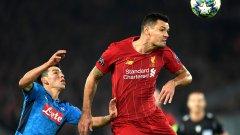 Ловрен отдавна не беше вкарвал в Шампионската лига, но този път спаси Ливърпул от загуба