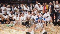 Реал Мадрид триумфира след домакински успех над Олимпиакос.