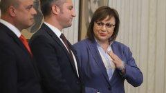 Румен Радев връчи третия мандат на БСП