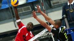Волейболистите на ЦСКА отново не успяха да спечелят като гост