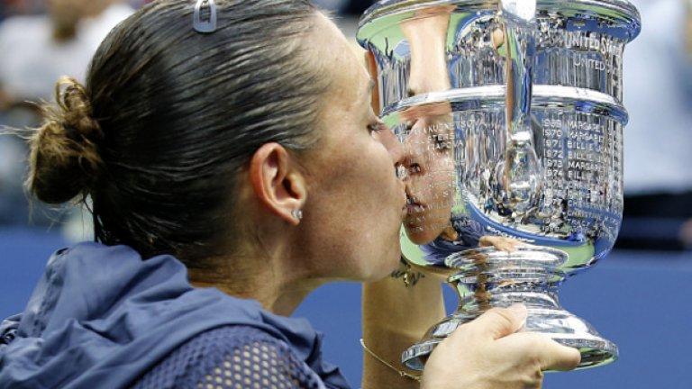 11. Флавиа Пенета – каква година за Пенета! Първа титла от Големия шлем, стигна до №6 в световната ранглиста, след което – сложи край на кариерата си.