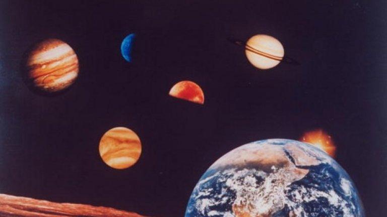 Явлението е уникално, заради голямото видимо сближаване на двете планети.