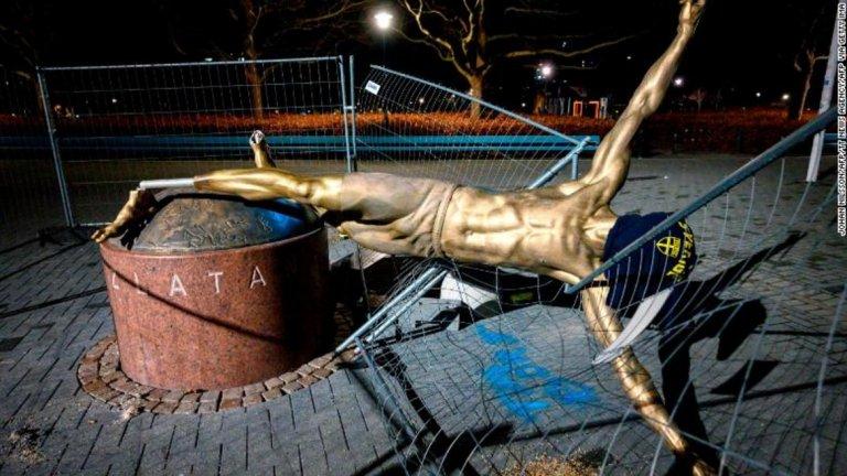 В Малмьо вече не искат статуята на Златан