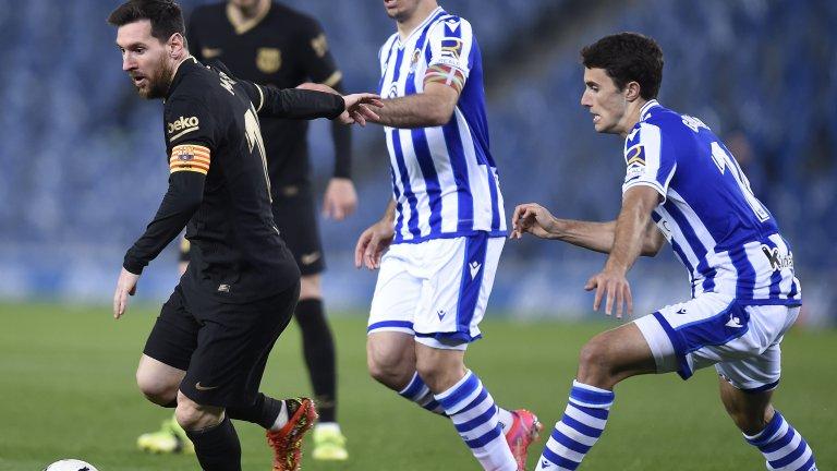 Луда победа за Барса, Лео с два гола и асистенция