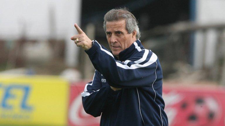 """Професори на скамейката  Ако Уругвай и Португалия се срещнат в елиминациите, ще бъде подобрен един чудат рекорд: за най-висока обща възраст на двамата старши треньори в мач от Световно първенство. Оскар Табарес и Фернандо Сантош са общо на 135 г. и 3 месеца, а настоящият рекорд отново е с участието на Табарес, който се """"комбинира"""" с Рой Ходжсън на мача Уругвай-Англия на Мондиал 2014 за общо 134 г. и 2 месеца."""