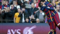 Барселона победи основния си съперник за титлата в Испания Атлетико Мадрид с 2:1 и вече има 3 точки аванс на върха на класирането