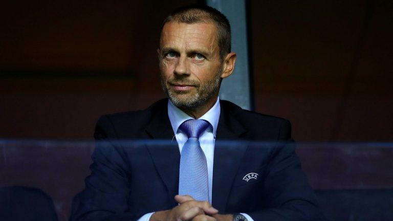 Чеферин иска да изключи Реал, Барса и Юве от Шампионската лига