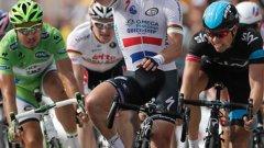 Вчера Кавендиш спечели 24-ата си етапна победа в Тура