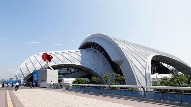 Международен плувен център Тацуми (водно поло)