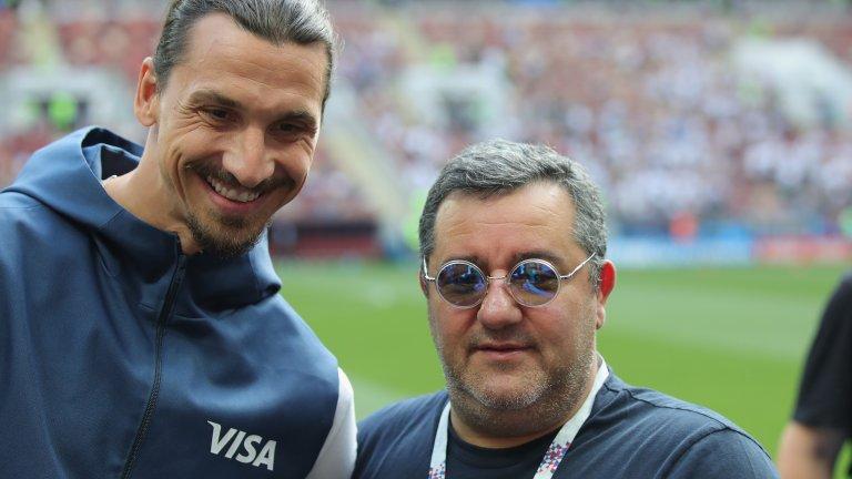 Мино Райола: Седя върху гърба на Ибрахимович, докато прави лицеви опори. А знаете, че не съм лек