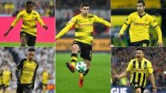 Борусия Дортмунд направи някои впечатляващи трансфери в последните години...