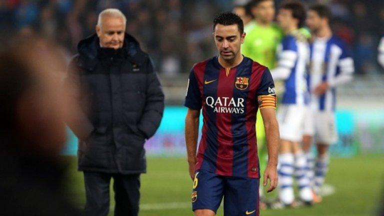 Шави в Ал Сад През миналия сезон Шави беше титуляр в Барселона, а от известно време е и легенда на клуба. Големите пари на катарския Ал Сад обаче са сериозно изкушение.