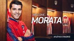 Алваро Мората ще играе в Атлетико Мадрид до лятото на 2020 година