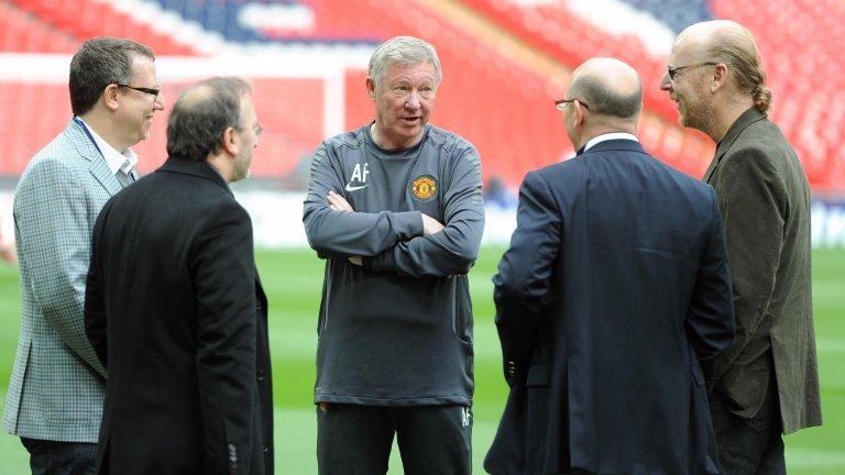 Манчестър Юнайтед се управлява от фамилията Глейзър от 2005-а.