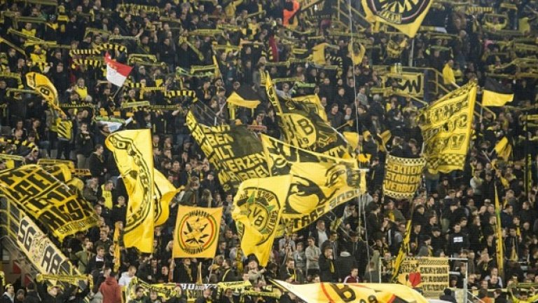 1. Борусия Дортмунд - 79 866 средно на мач