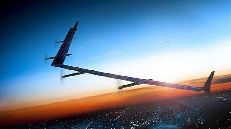 Миналия месец се появи информация, че Facebook тества дронове, зареждани със слънчева светлина, за да излъчват сигнал с лазерно насочване към земята
