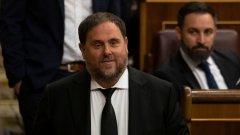 На последните избори за Европарламент Ориол Жункерас  бе избран за депутат. Испанският съд обаче не му позволи да отиде в Страсбург и да положи клетва като евродепутат.
