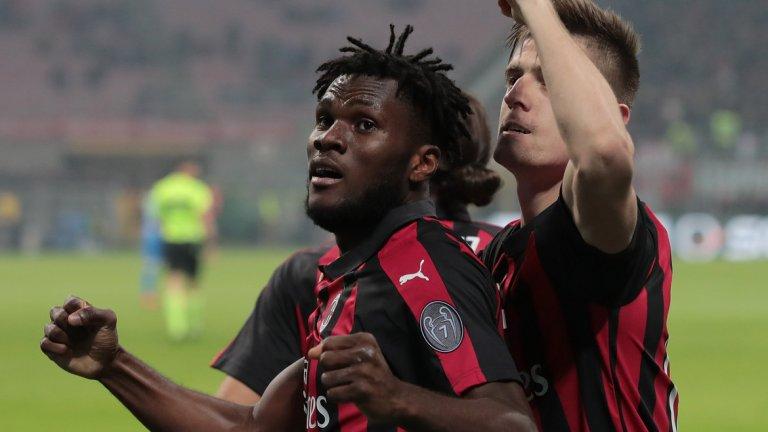 Кшищоф Пьонтек отбеляза седмия си гол в шести си мач за Милан