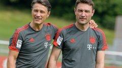 Нико Ковач отново ще работи с брат си Роберт, който му помагаше и в националния отбор на Хърватия и Айнтрахт.