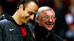 В отсъствието на Рууни, сър Алекс Фъргюсън заложи на Димитър Бербатов да е на върха на нападението на Манчестър Юнайтед
