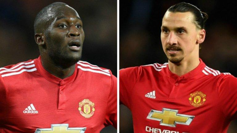 Историята на Златан и Лукаку от времето им в Юнайтед