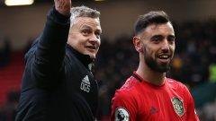"""Бляскавият сблъсък за първото място между двата най-титулувани отбора в Англия е налице. Юнайтед натрупа 3 т. преднина преди гостуването на """"Анфийлд"""", но може ли наистина да задържи върха?"""