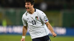 Крилото на Болоня Рикардо Орсолини се разписа в дебюта си за националния тим