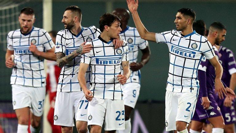 """Интер оглави класирането в Серия """"А"""""""