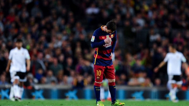 Новата роля на Меси в Барселона не работи