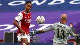 Чудовищен Обамеянг донесе на Арсенал 14-а Купа на Англия и класиране в Лига Европа