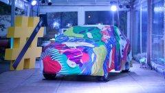 Артистичното покривало на Audi Q2 е нарисувано от Калоян Тошев - Мозъка