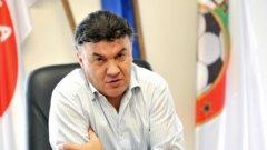 Борислав Михайлов вече не част от УЕФА