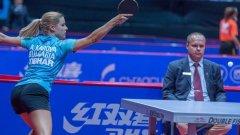 Анелия Карова победи Айхика Мукрджи от Индия с 4-3 гейма след драматичен финален гейм