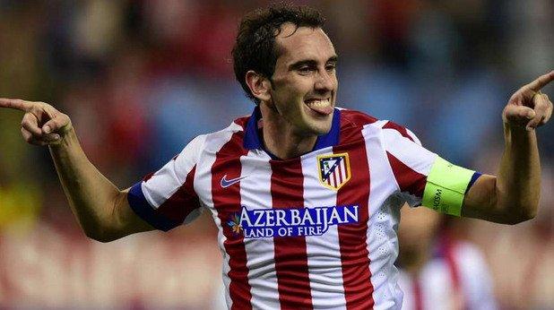 Централен защитник: Диего Годин (Атлетико Мадрид)