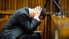 Анонимен служител на затвора разкрива, че Писториус имал рани по китките.