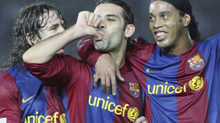 Рафа Маркес прекара славни години в Барселона.