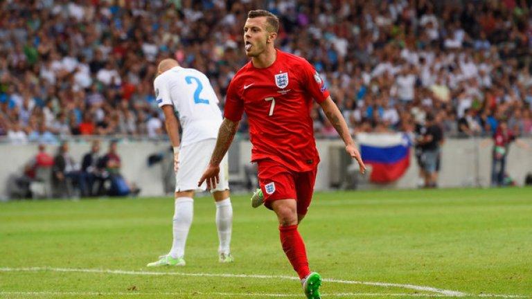Съперничеството във Висшата лига явно няма място в националния отбор на Англия.