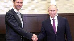 Руският президент се обяви за изтегляне на чуждите войски от Сирия