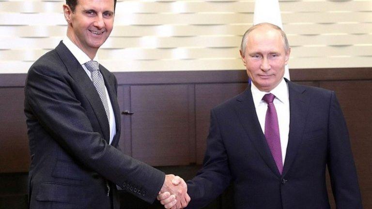 За Кремъл нещата никога не са опирали само до Сирия, а плановете на Владимир Путин и стратезите в Кремъл са много по-големи.