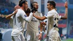 Реал Мадрид отбеляза пет гола за първи път от 18 февруари