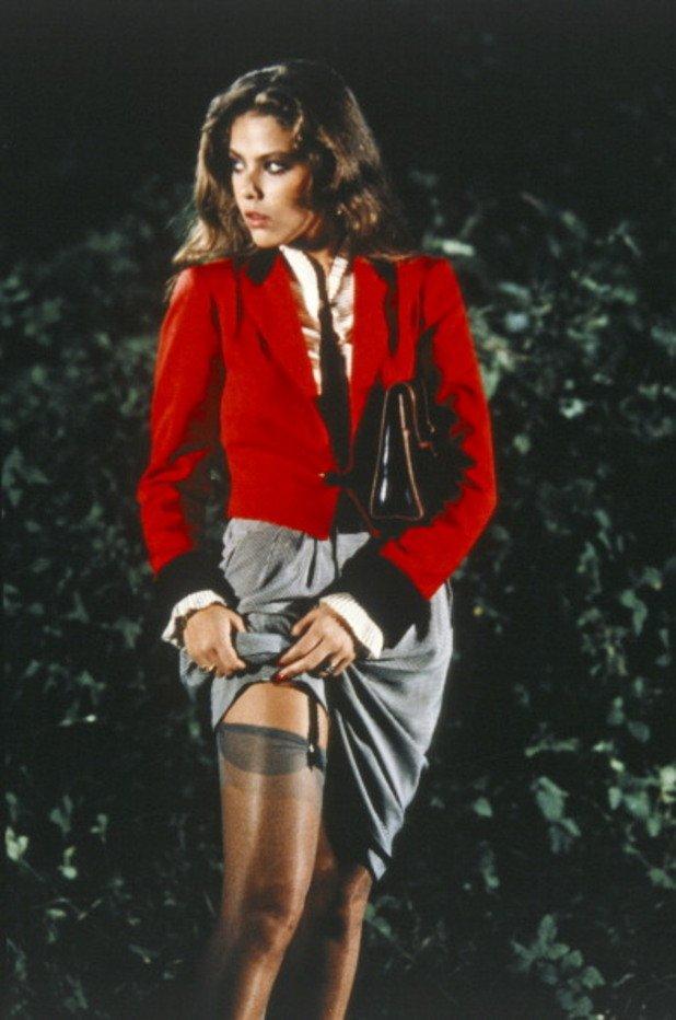 Звездата на италианското кино през 80-те години...