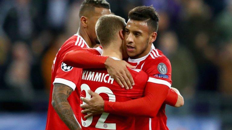 Полузащитник: Корентен Толисо (Байерн Мюнхен и Франция) Изигра само два мача през този сезон в Бундеслигата, в които успя и да се разпише веднъж, въпреки че позицията му е пред защитната четворка. Тежка контузия и скъсани кръстни връзки обаче го извадиха от игра за дълго време и ще го видим обратно в игра чак през идната кампания.