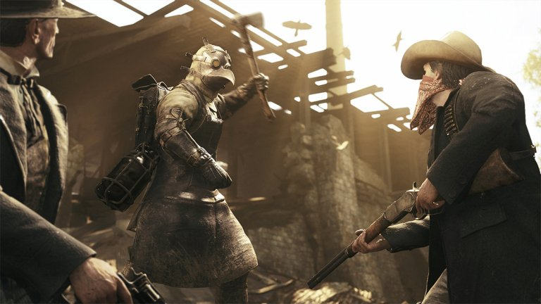 Hunt: Showdown  Играта е дело на създателите на Crysis от Crytek, което значи, че трудно може да е лоша. Реално става въпрос за лов на чудовища и една много добра комбинация от PvE и PvP. Общо до 12 души, разделени по двойки, търсят следи, за да хващат огромни чудовища и да вземат наградите за тях. Интересното е, че можете или да тръгнете директно на лов за звяра, или първо да се отървете от конкуренцията и да се екипирате с оръжия. За разлика от останалите игри в жанра, тук има и система за левълинг, която осначава, че колкото по-високо ниво достигате на героя си, толкова по-добра екипировка можете да ползвате. Има обаче и една уловка - веднъж убият ли ви, губите всичко и започвате да вдигате ниво отначало.Тази механика вдига залозите и изпълва с напрежение и динамика всеки един рунд.