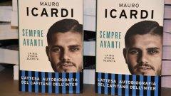 Автобиографията на Мауро Икарди предизвика бурни вълнения у феновете