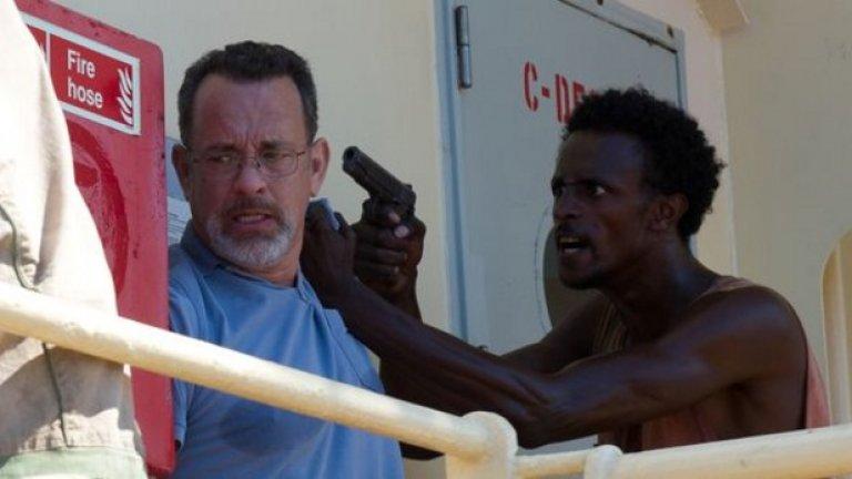 """Бархад Абди - $65 000 за """"Капитан Филипс""""  Този филм направи Абди разпознаваемо лице, но със сигурност """"Капитан Филипс"""" не е направил актьора богат. Неизвестното лице, толкова запомнящо се изиграло сомалийски пират, отвлякъл капитана на кораб (Том Ханкс), е получил заплащане от $65 000 за ролята си, във филм, който с бюджет от $55 млн. не е бил сниман особено пестеливо."""