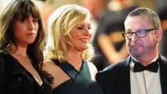 Изявленията на Триер бяха допълнени със сексисткия коментар, че би направил порно филм с придружаващите го звезди от новата му продукция Шарлот Гейнсбург и Кирстен Дънст