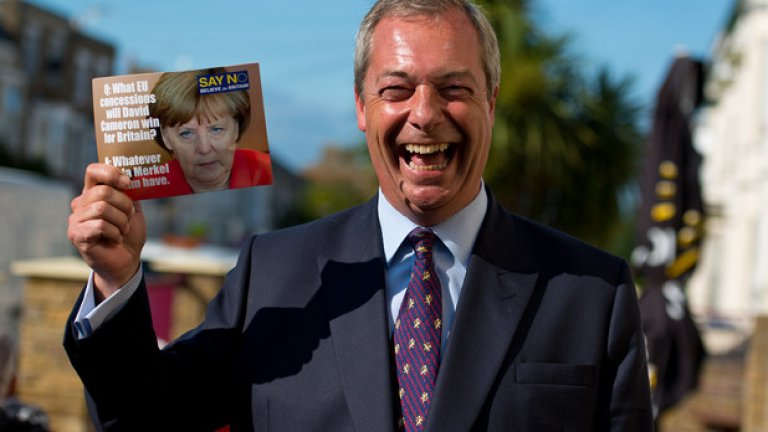 Ако интелектуалната подкрепа за Brexit се концентрира основно върху икономиката, то емоционалната защита на напускането на ЕС е дълбоко повлияна от имиграцията. А Найджъл Фарадж от UKIP е основният й говорител.